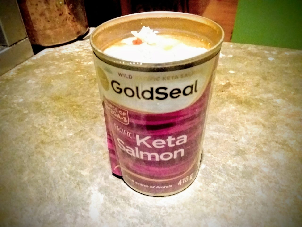 ケタサーモン缶で作るサーモンバーグのレシピ